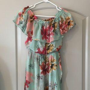 Express hi-low dress. Size XS